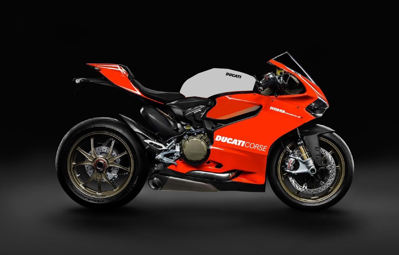 Ducati Corse Fairing Sticker
