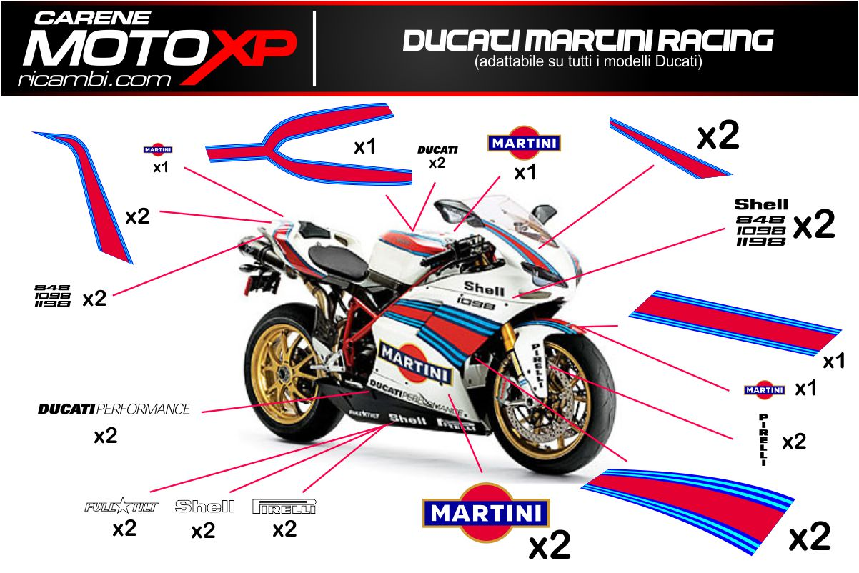 Ducati Corse Decal