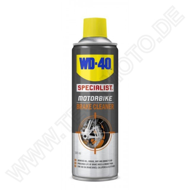wd 40 specialist motorbike bremsenreiniger 500ml. Black Bedroom Furniture Sets. Home Design Ideas